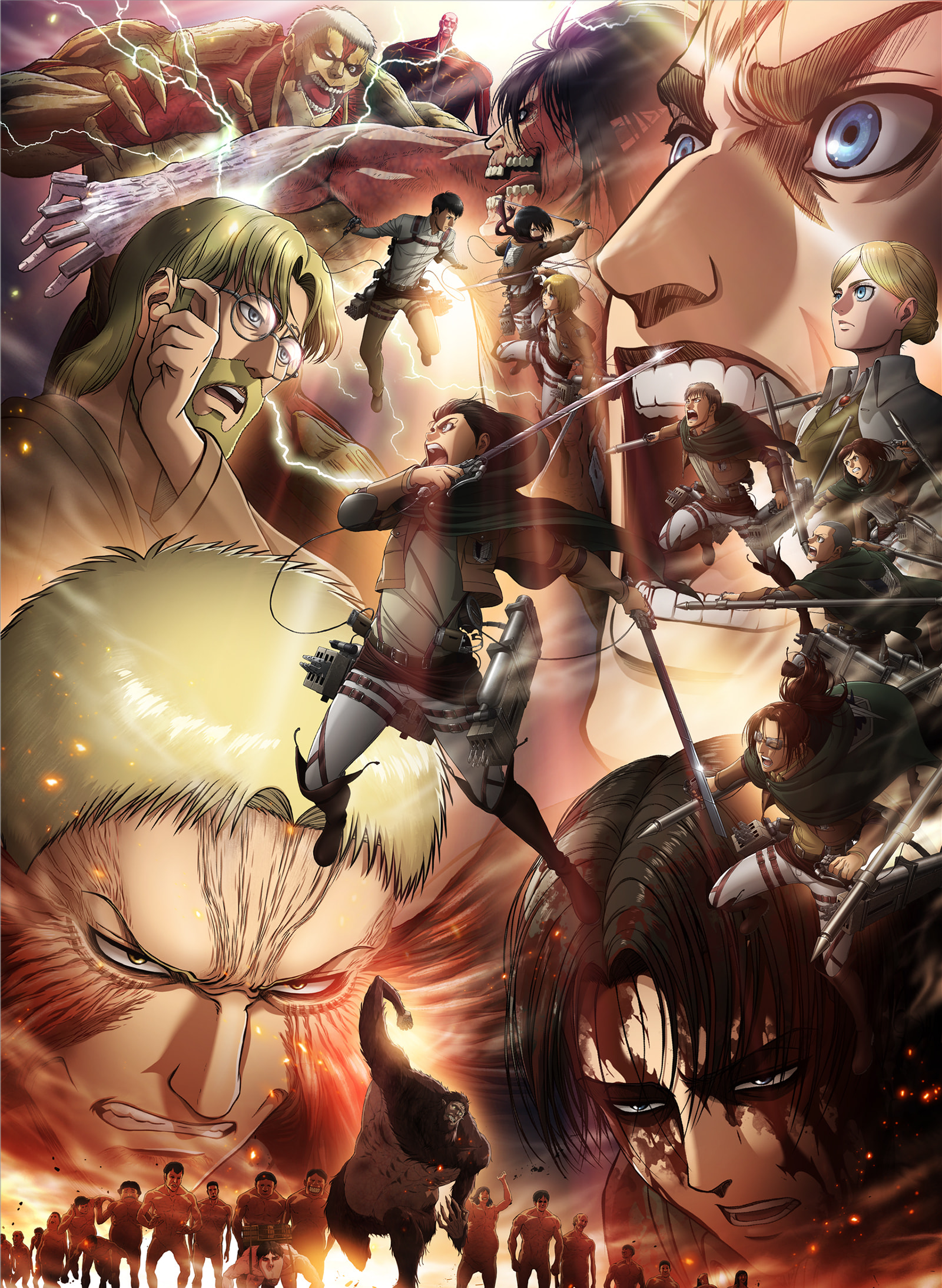 Attack on Titan Season 3 Part 2 will be airing in a few